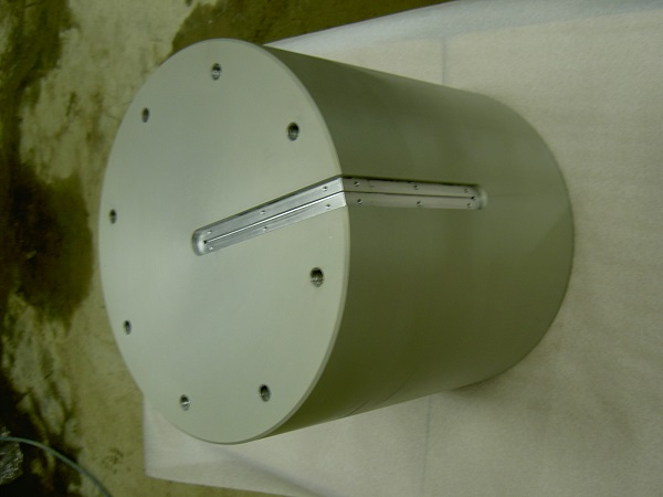Anodisation incolore et épargne sur pièce de 500kg