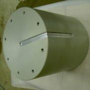 Anodisation incolore avec épargne 500kg