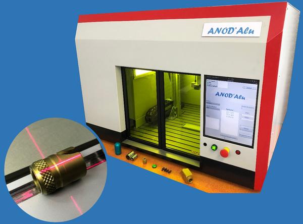 Anodisation contrôle des couches par mesure laser